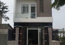Bán nhà mới xây 1 trệt 2 lầu, nằm trong khu đô thị Nhà Xinh Residential