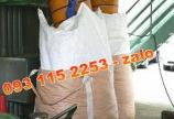 Bao jumbo đựng lúa gạo tải trọng từ 750kg - 1200kg