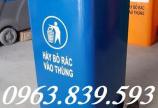 Thùng rác nhựa HDPE 120L giảm giá giao tận nơi. lh 0963.839.593 Ms.Loan