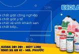 Hóa chất giặt ủi Ecolab Đà Nẵng