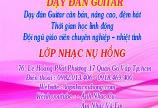 Địa chỉ học đàn guitar ở TPHCM