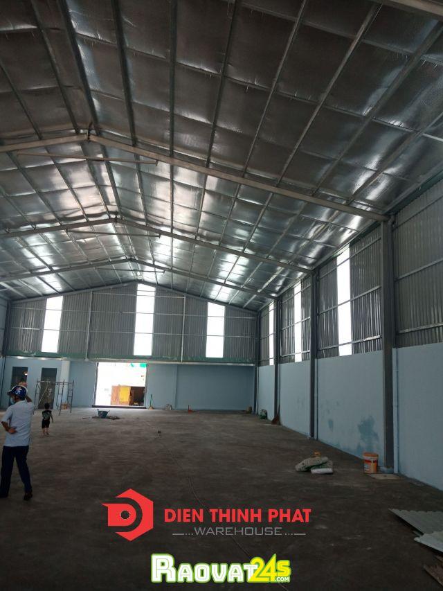Cho thuê kho nhà xưởng thuộc khu vực đường  18B quận  Bình Tân 10x20 giá 20tr