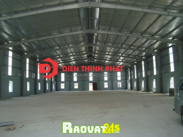 cho thuê nhà xưởng đường Tây Lân quận Bình Tân 660giá  45tr