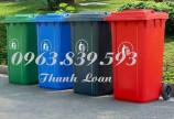 Pp thùng rác nhựa 60L 120L 240L giá rẻ HCM./ Lh 0963.839.593 Thanh Loan