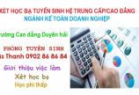 Tuyển sinh ngành Kế toán doanh nghiệp hệ Cao đẳng - Trung cấp