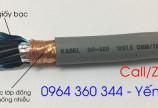 Cáp điều khiển chống nhiễu lớp giấy bạc và lớp lưới đồng