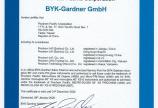 Prochem-tech phân phối máy đo độ bóng Byk Garder tại Việt Nam