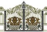 Lắp đặt cửa cổng hợp kim nhôm đúc tại Gò Vấp