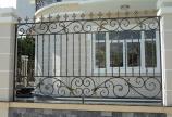 Thi công hàng rào sắt mỹ thuật tại Củ Chi