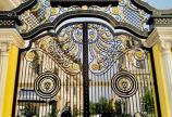 Thi công cổng sắt mỹ nghệ cao cấp Thủ Đức
