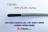 Cáp điều khiển 8x0.75, cáp tín hiệu 8x0.75 hiệu Altek Kabel